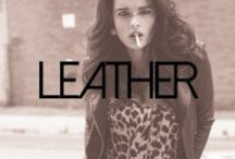 "All Things ""LEATHER"" / All colors of LEATHER / by Caren Quadros🌷"