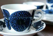 Vintage Cups & Plates etc.
