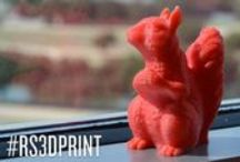 3D Printing / Spark your imagination with the magic of 3D printing, including inspiration, blueprints, and giveaways. / by RadioShack
