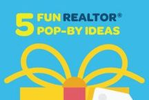 Agent Pop-By & Gift Ideas / Creative real estate agent gift ideas for pop-bys, closings and more! / by Point2