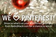 Your #GiftSmart Wish List / This season is all about giving and making wishes come true, and we want to be a part of the magic. Let us know which RadioShack gadget, toy or tech gift you're wishing for the most for a chance to win it! Visit http://bit.ly/GiftSmart to learn more! / by RadioShack