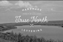you're just my type. / Hand lettered fonts. True Type Fonts. Open
