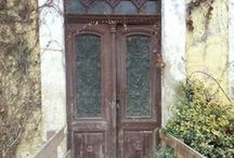 Old Doors- Boomer Travel / In my travels, I've become obsessed with photographing old doors because they have so many stories to tell. I've also gathered doors that others have seen. Do you love old doors? Baby Boomer travel over 50. www.babyboomster.com
