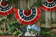Made In The USA / Celebrating all things red, white and blue.