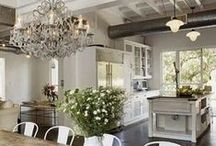 Vintage Farmhouse I / Blends heritage and familiar influences with continuing touches of artisan designs.