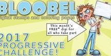 Bloobel Progressive Challenge / A collaborative board for the Bloobel Progressive Challenge