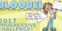 Bloobel Progressive Challenge / A collaborative board for the Bloobel Progressive Challenge