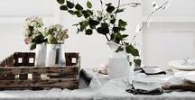 Kitchen / dining room. / Scandinavian inspired kitchens and dining spaces I love