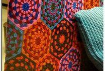 lovely knitting and crochet