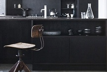 Black. / Black will always be the new black when it comes to decorating my home.