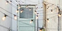 Outdoor space. / Gardens, patios, balconies and other outdoor spaces for balmy summer days.