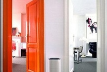 Orange. / I don't know if I'm bold enough but I do admire an orange in other homes and spaces!