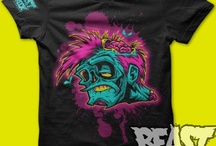 BeastWreck Shirts for Sale! / Running around naked in the privacy of your own home is one thing, but for the love of Mike -- cover yourself while outdoors! I suggest one of BeastWreck's many amazing printed shirts... or a whole closet full!! / by Beast Pop