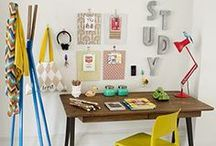 Office Organization / Ways to organize your office, work space, and desk whether you're at home or at work.