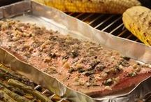 Alaska Seafood Grilling Recipes / Delicious grilling recipes featuring Alaska Seafood.