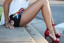 shorts, I fancy thee' .. / true fashionistas to the bone... / by The Fàncy ONE ♔