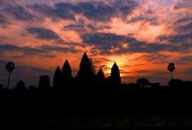 Cambodia / The capital of Cambodia, Phnom Penh contains ornate palaces, fascinating museums, colourful markets and beautiful silk boutiques, as well as plenty of colonial charm.  Gateway to the famous temples of Angkor, Siem Reap is a busy yet delightful town of French colonial and Chinese-style architecture. / by New Horizons Holidays