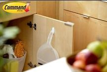 Kitchen Organization / Keep the kitchen clutter free with these organizing tips.