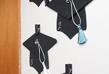 Graduation Party / It's a time for celebration and we're sharing our favorite ways to invite, decorate, and celebrate your graduate.