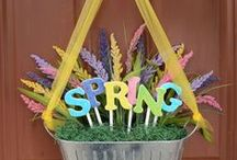 Easter and Spring Decorating / Our collection of our favorite Easter and Spring décor, project ideas, DIY project ideas for your home.