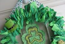 St. Patrick's Day / Never iron a four leaf clover, you don't want to press your luck. Check out our board for fun decorating ideas and projects.