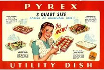 I <3 pyrex / by Pink Picker Party
