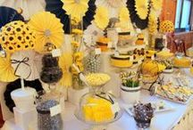 PaRtY: Beeutiful Bumble Bee Party / What will it Bee? Mother to Bee, Happy Beeday!, Bee Mine, Etc.  / by Pink Picker Party