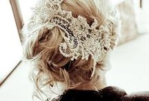 Wedding. / Beautiful and ethereal wedding dresses, hair, venues and parties.