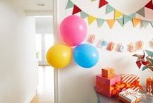 Birthday Party / Ideas, how to's and inspirations for throwing the best birthday party ever. Get your party started with Command™ Party Products.