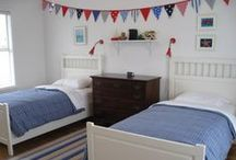 Kids Room Ideas / I have two children, a 9 year old daughter and 3 year old son.. this is a collection of ideas for an older girls room and a boys room transitioning from baby/toddler to childs space..