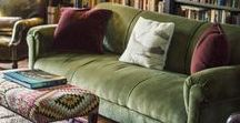 Living Rooms / Inspiration and decor finds for your living room