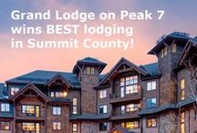 Where to Stay / A collection of the best resorts in Breckenridge. L U X U R Y.