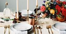 Entertaining / Tablescapes, food, decor and drinks for gatherings large and small.