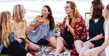 G I R L F R I E N D S / Ideas for some quality time with your best girlfriends!