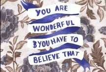 Quotes / by Claire Talley