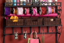 Creative storage and organization ideas / by Leah Coil