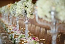 Romantic Weddings / Romantic, Posh and Gorgeous Weddings for your Inspirational Pleasure!