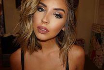 Outer Beauty. / Hair, makeup, skin, etc.