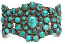 Native Turquoise Jewelry / by Marie Herbert