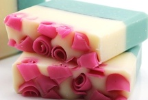 SOAP & SOAPMAKING / Pretty soap and homemade soaps / by Marie Herbert