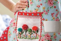 APRONS (HOMAGE TO MAMA) / by Linda Borger