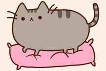 Pusheen - Belton & Duff / Created in 2010 for a comic strip on their website 'Everyday Cute'. / by Linda Borger