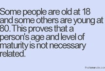 AGE IS JUST A NUMBER / by Linda Borger