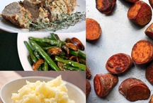 Thanksgiving Dinner Plan (17 Day Diet Friendly) / Here is a menu planned just for your Thanksgiving Dinner.  Enjoy pork tenderloin, mock mashed potatoes, green beans with crimini mushrooms and rosted sweet potatoes.