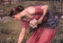 Waterhouse - Pre-Raphaelite / by Linda Borger