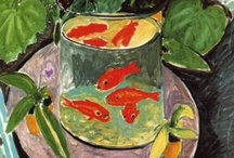 """Henri Matisse - Fauvism / """"Seek the strongest color effect possible.  The content is of no importance."""" / by Linda Borger"""