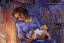 """Van Gogh - Post-Impression. / """"Real painters do not paint things as they are ... They paint them as they themselves feel them to be.""""  """"I am seeking. I am striving. I am in it with all my heart."""" / by Linda Borger"""