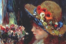 """Renoir - Impressionism / """"Why shouldn't art be pretty?  There are enough unpleasant things in the world."""" / by Linda Borger"""