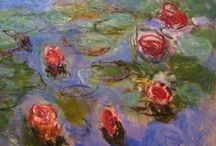 """Monet - Impressionism / """"People discuss my art and pretend to understand as if it were necessary to understand, when it's simply necessary to love."""" / by Linda Borger"""