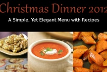 Christmas Menu and Recipes (17 Day Diet Friendly) / The Christmas Holiday is really about spending quality time with your loved ones.  Here's a simple Christmas Menu with Recipes to help you eat healthier, spend less time in the kitchen and spend more time with family and friends.
